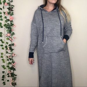 Soft Surroundings Lazy Day Surplice Sweater Dress